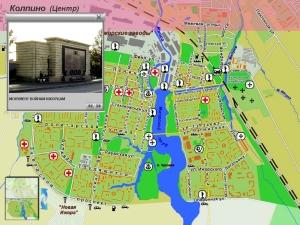 Интерактивная карта Колпино